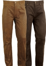 Leather Pants Fuente deluxe Oiled Buffalo Nubuk Leather