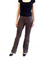Damen-Lederhose Ricano Low Cut Lammnappa-Leder braun