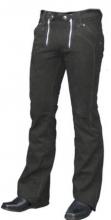 Top Leather Pants Scorpion Carpenter Buffalo Nubuk Leather black